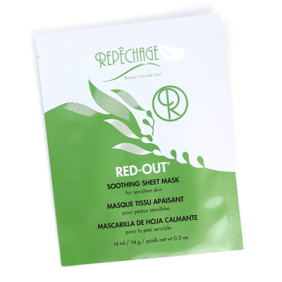 RED OUT SOOTHING SHEET MASK