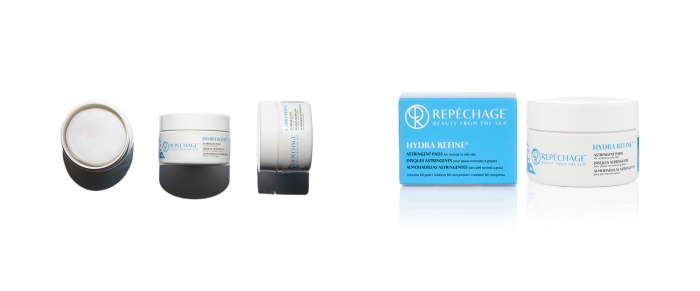 Introducing NEW Hydra Refine Astringent Pads: the first toner in pads