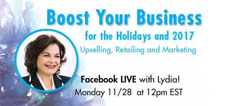 Ask Lydia lunedì 28 novembre 2016 alle 18:00 live su Facebook per rispondere a tutte le vostre domande