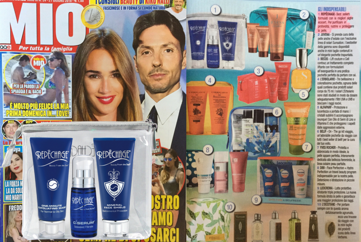 I BEST SELLERS REPECHAGE IN VERSIONE TRAVEL KIT