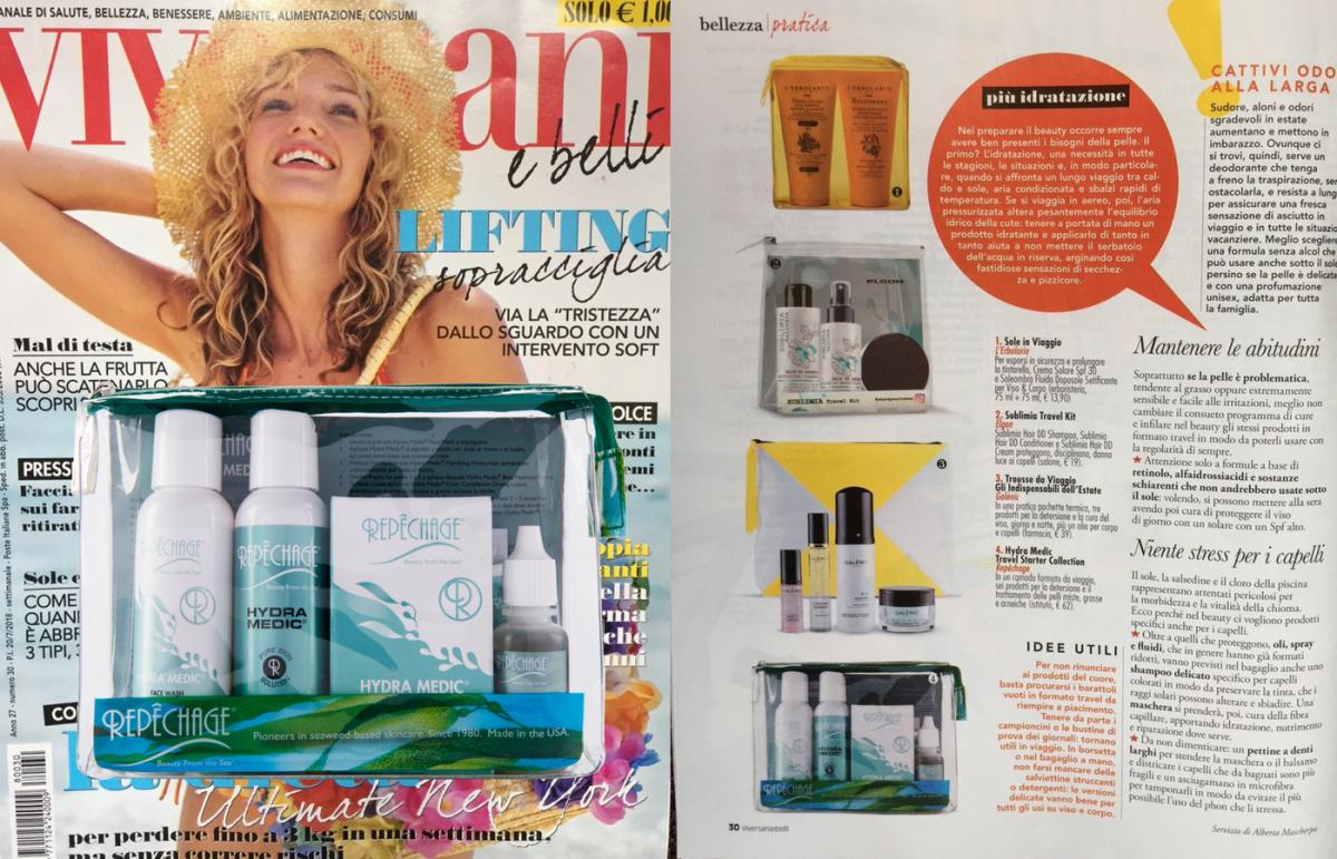 Hydra Medic Travel Kit: combatti l'acne anche in vacanza