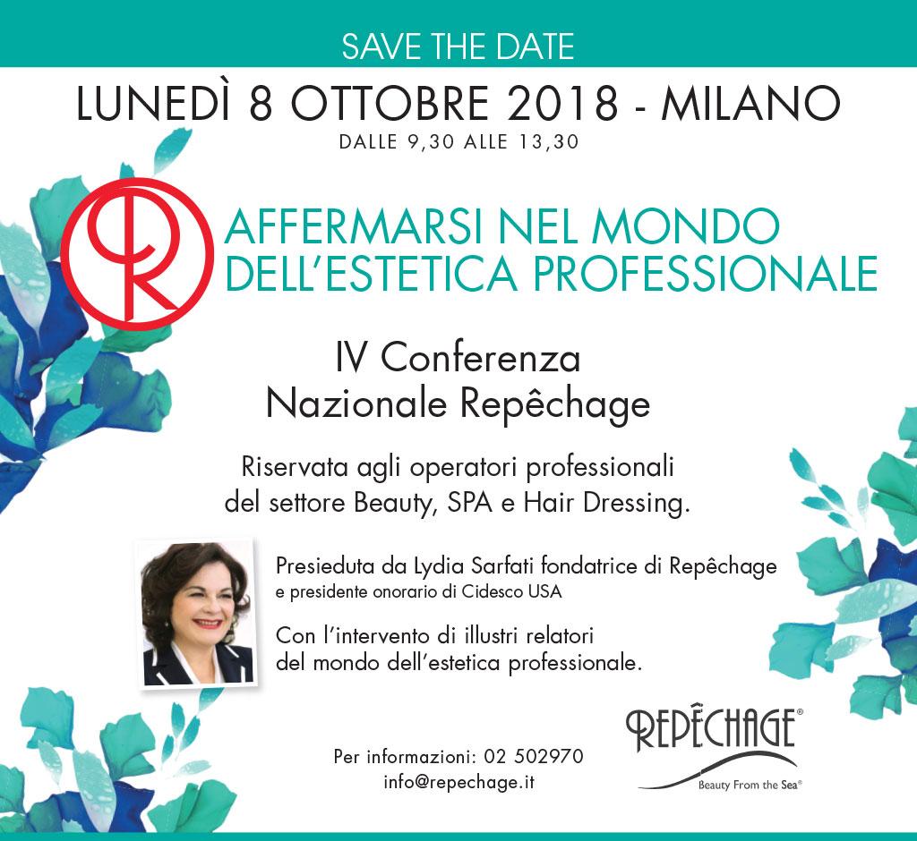 IV Conferenza Nazionale Repêchage - 8 Ottobre 2018