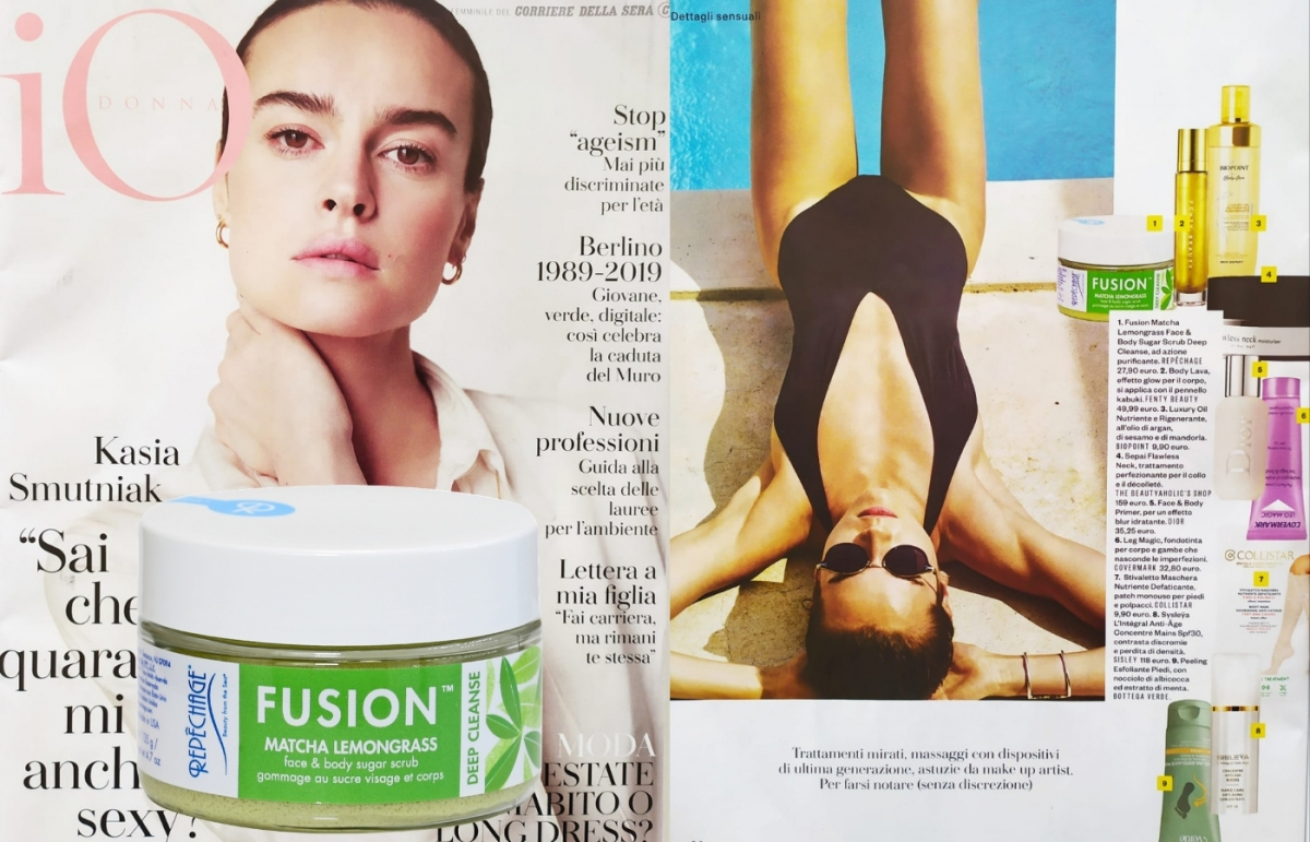 FUSION FACE & BODY SCRUB MATCHA LEMONGRASS